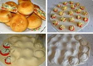 """Вкуснейшие пирожки """"Бомбочки"""" за 15 минут"""
