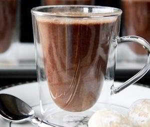 Горячий имбирный шоколад