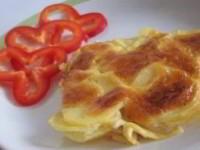 Запеченный под сыром картофель Дофине