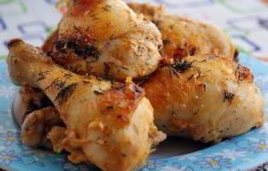 Курица, запеченная с майонезом и кетчупом