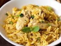 Курица с рисом и карри