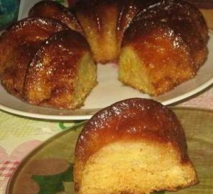Мандариновый пирог без муки