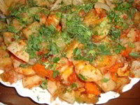 Наивкуснейшая картошка в духовке