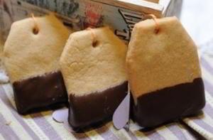 Печенье «Чайный пакетик»