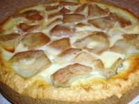 Пирог Яблоки на снегу с очень нежной начинкой