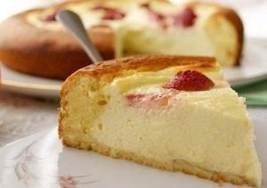 Творожный пирог с фото