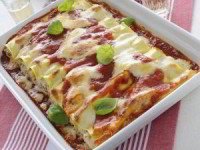 Каннеллони с начинкой из мяса (Cannelloni ripieni di carne)