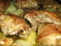 Куриные бедрышки в духовке