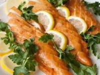 Медово-лимонные куриные грудки 137 ккал на 100 г
