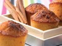 Мини-кексы с цитрусовыми и корицей