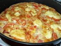 Пицца на кефире
