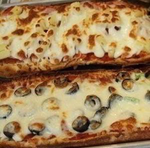 Пицца-хлеб за 10 минут