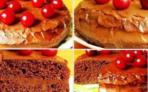 Шоколадный торт «Пища дьявола»