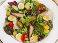 Балтийский салат со шпротами «Рижское Золото»