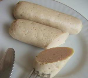 Домашняя варёная колбаса