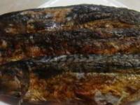 Запечёная на углях скумбрия