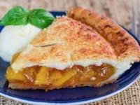 Идеальный персиковый пирог