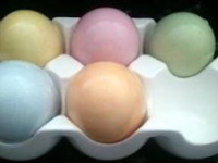 Как красить яйца на Пасху своими рукамиКак красить яйца на Пасху своими руками