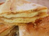 Необычный яблочный пирог