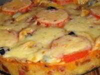 Русская суперпицца-бутерброд
