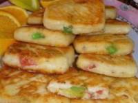 Сырники с мармеладом