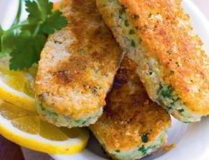 Хрустящие рыбные палочки