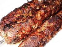 Шашлык из рубленного мяса