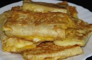 Завтрак на скорую руку - лаваш с начинкой