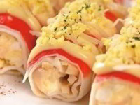 Закуска «Аппетитные трубочки»