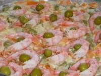 Креветочный салат