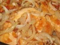 Свинина жареная с луком - вкусное, нежное, сочное мясо