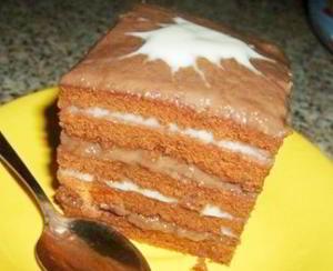 """Торт """"Нежная шоколадка"""""""
