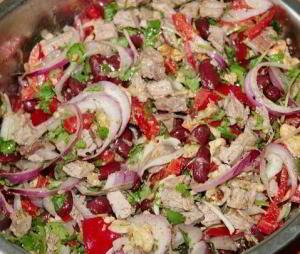 "рецепт Салат ""Тбилиси"""