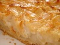 Яблочный пирог - очень вкусный и нежный