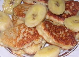 рецепт Банановые сырники