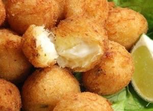рецепт Закусочные сырные шарики