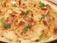 рецепт Запеченный Картофель с луком «Анна»