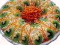 рецепт Праздничный салат с киви