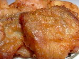 рецепт Рыбка в кляре на минералке