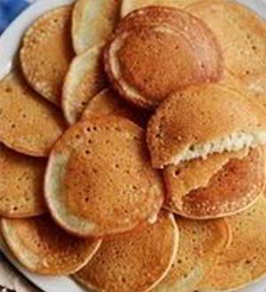рецепт Тонкие банановые панкейки без масла