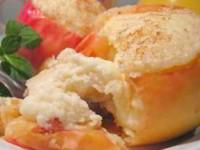 рецепт Яблоки печеные с творогом