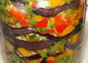 Вкуснейшие баклажаны рецепт на зиму 10 на 10