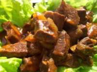 рецепт Гуляш из говяжьего сердца
