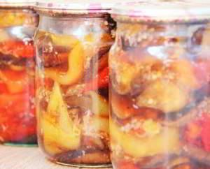 рецепт Закуска из баклажан в ароматном маринаде