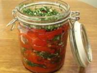 рецепт Перец болгарский с чесноком на зиму