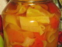 рецепт Перец, маринованный с медом