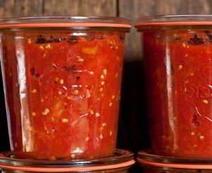 рецепт Печеные помидоры: заготовка на зиму