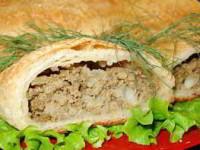 рецепт Пирожки с печенью и гречневой кашей