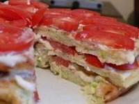 рецепт Тортик кабачковый