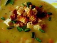 рецепт Быстрый гороховый суп